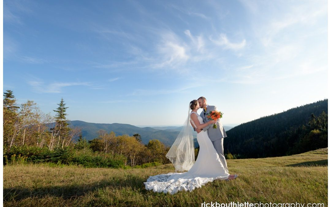 Waterville Valley Resort Mountaintop Wedding :: Sean + Carolyn