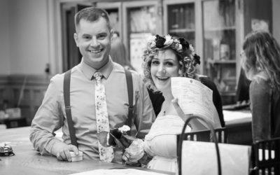 Intimate Lowell City Hall Wedding :: Scott + Ida