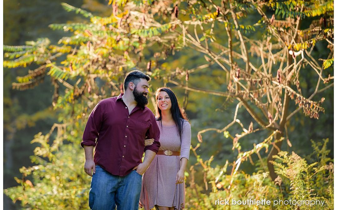 A Beautiful Backyard Engagement Session :: Tahlia & Kevin