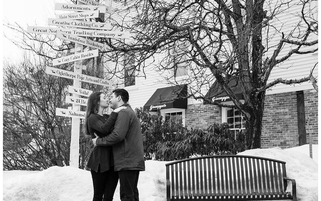 A Charming Winter Engagement Session :: Ricky & Caity
