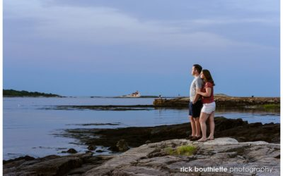 A Gorgeous Great Island Common Engagement Session :: Neil & Vicki