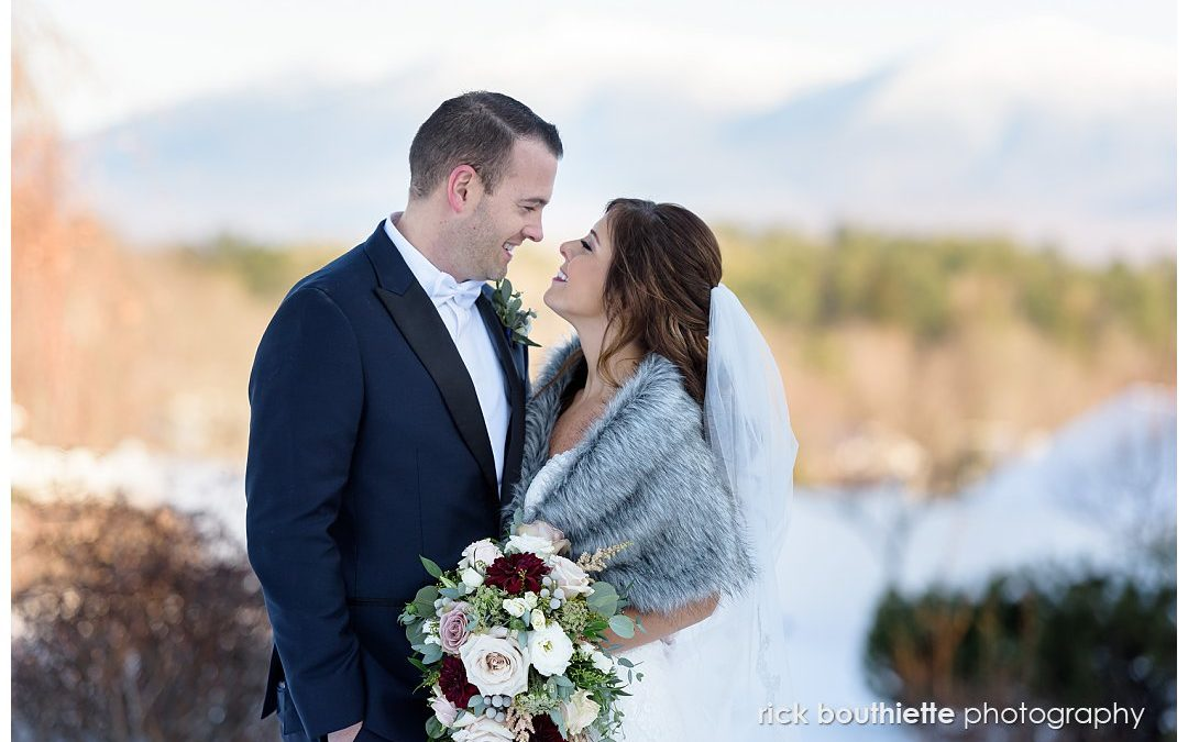 A Stunning New Hampshire Winter Wedding:: Jay & Nicole