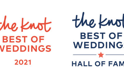 We're Celebrating Being Named Winner of The Knot Best of Weddings 2021!