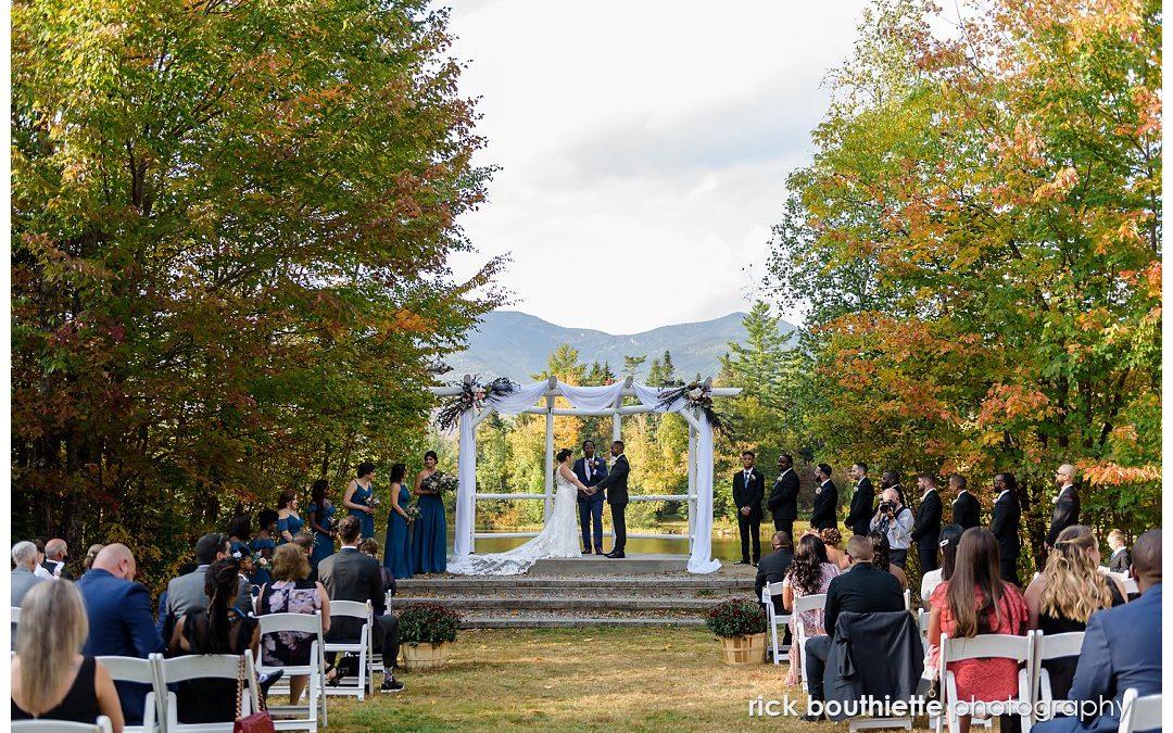Fall Waterville Valley Resort Wedding:: Julie & Themba