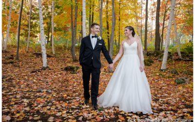 Lakes Region Intimate Fall Wedding:: Paul & Sarah